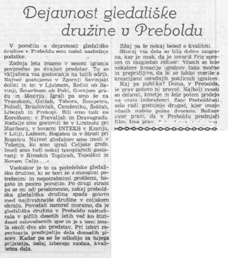 Celjski tednik, 10. 1. 1958, št. 1, str. 4