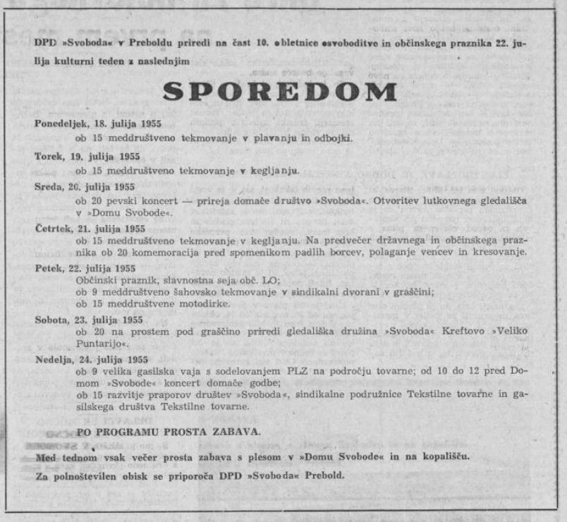 Celjski tednik, 15. 7. 1955, št. 28, str. 4