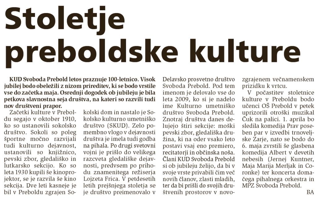 Novi tednik, 22. 3. 2011, št. 23, str. 12