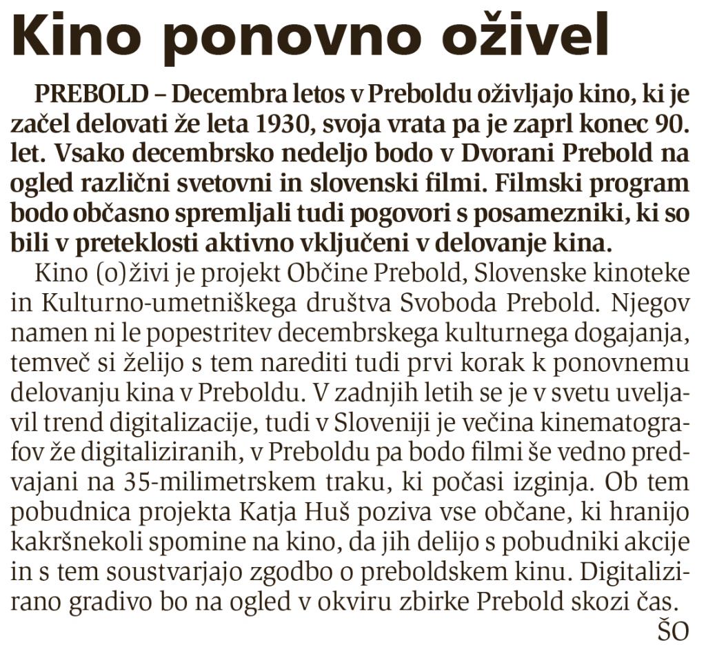 Novi tednik, 4. 12. 2014, št. 49, str. 14