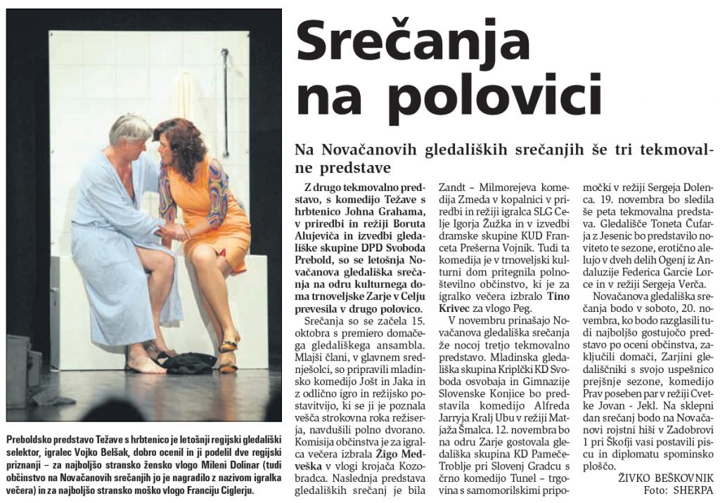 Novi tednik, 5. 11. 2010, št. 87, str. 15