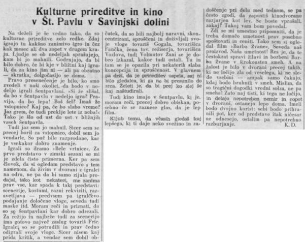 Savinjski vestnik, 24. 11. 1950, stran 2