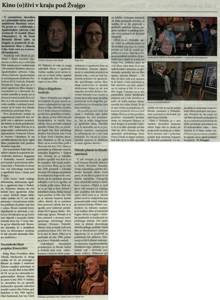 Utrip Savinjske doline, 19. 12. 2014, št. 12, str. 26