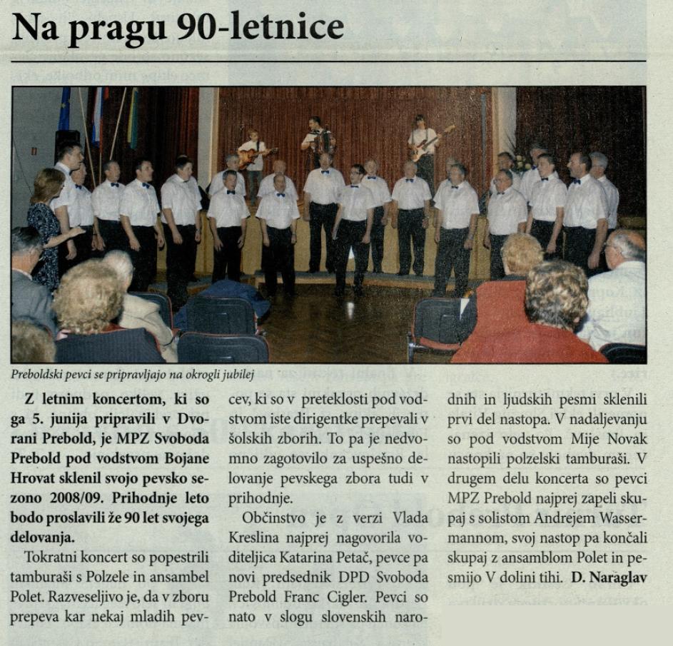 Utrip Savinjske doline, 24. 6. 2009, št. 6, str. 19