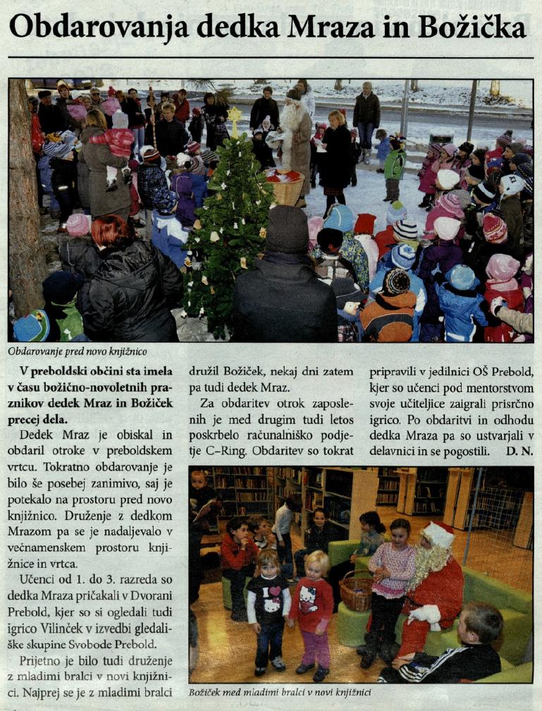 Utrip Savinjske doline, 25. 1. 2012, št. 1, str. 15