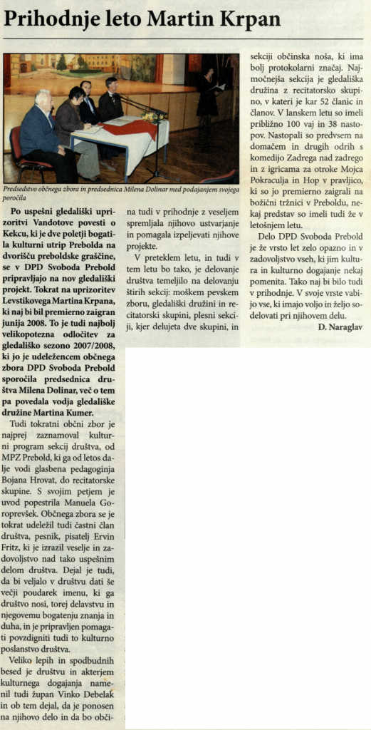 Utrip Savinjske doline, 25. 4. 2007, št. 4, str. 18