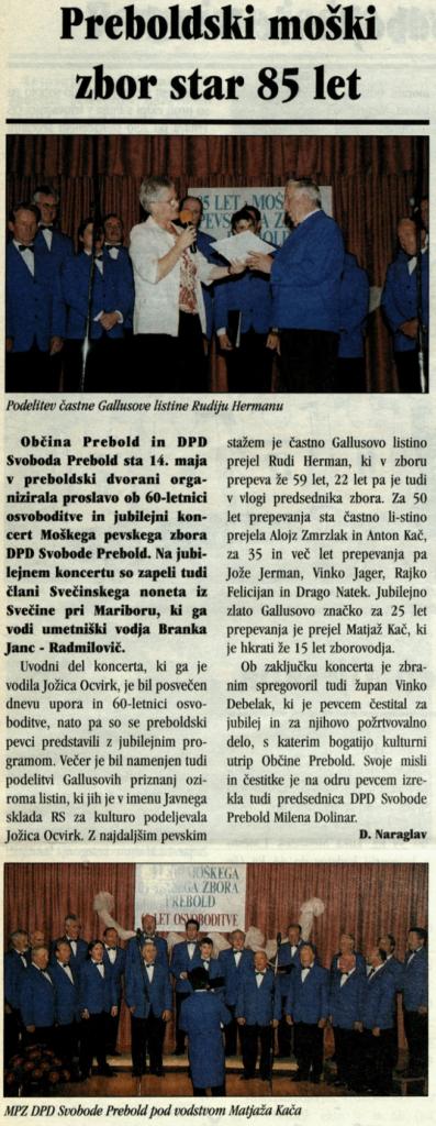 Utrip Savinjske doline, 25. 5. 2005, št. 5, str. 19