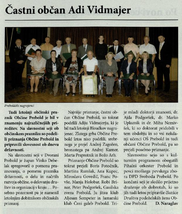 Utrip Savinjske doline, 25. 8. 2009, št. 8, str. 4