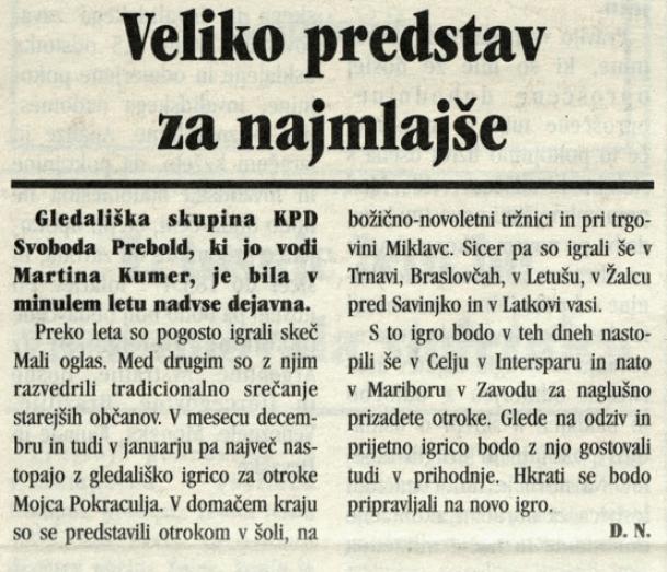 Utrip Savinjske doline, 26. 1. 2005, št. 1, str. 14