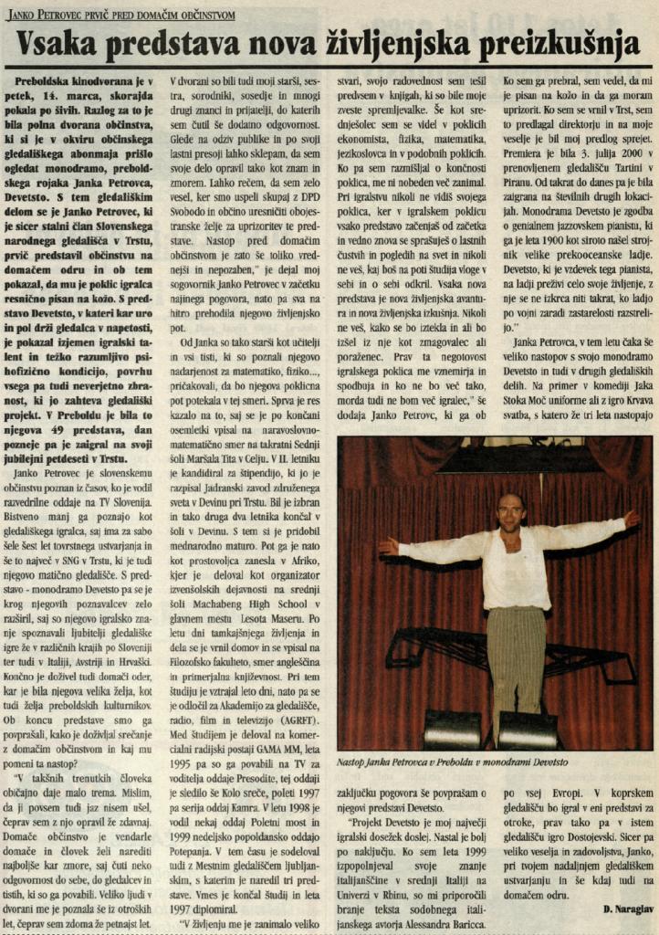 Utrip Savinjske doline, 26. 3. 2003, št. 3, st. 19