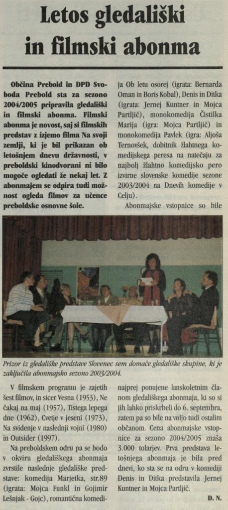 Utrip Savinjske doline, 27. 10. 2004, št. 10, str. 19