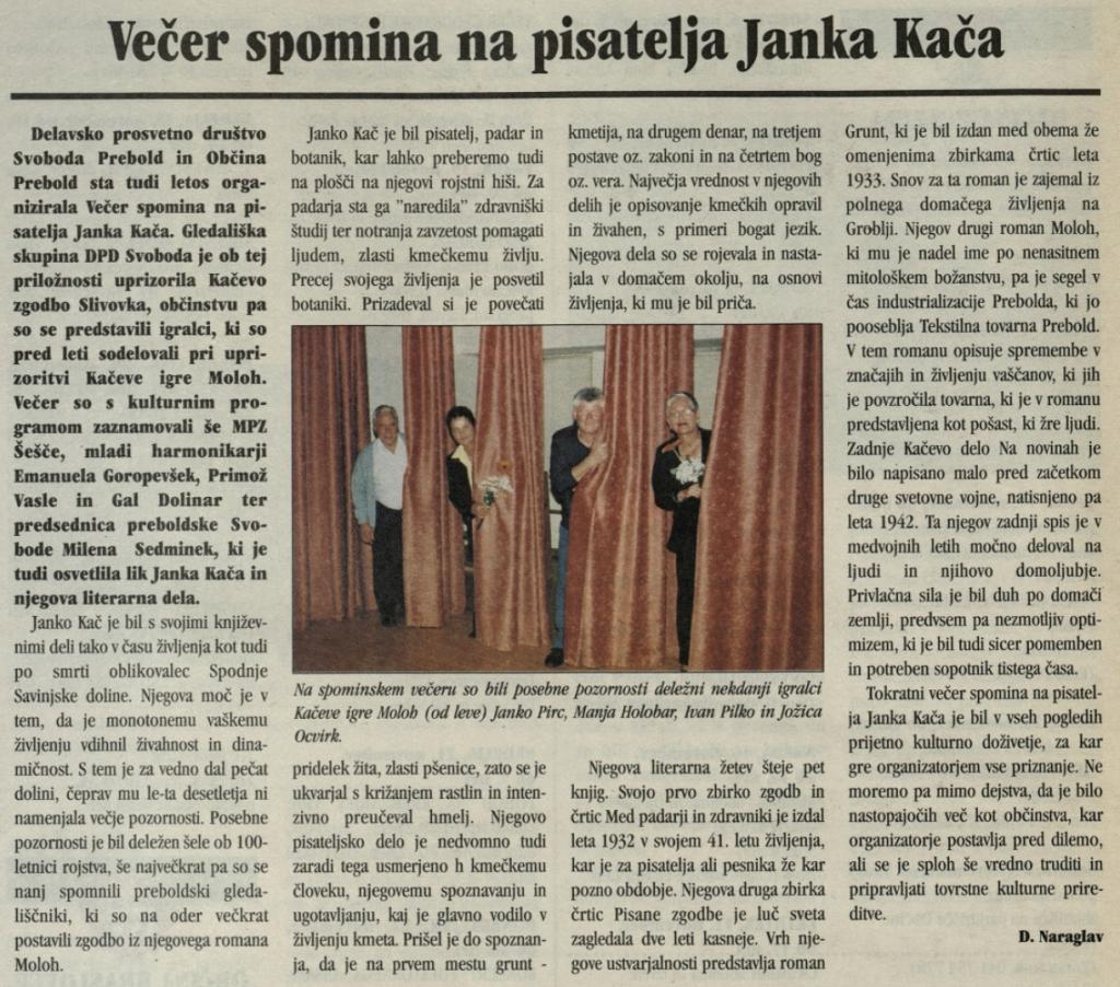 Utrip Savinjske doline, 27. 10. 2004, št. 5, str. 18