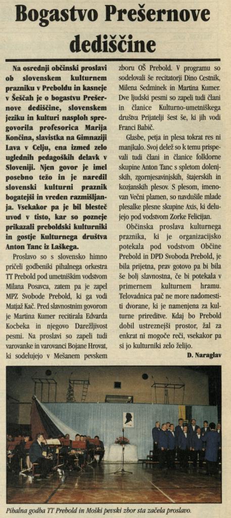 Utrip Savinjske doline, 27. 2. 2002, št. 2, st. 18