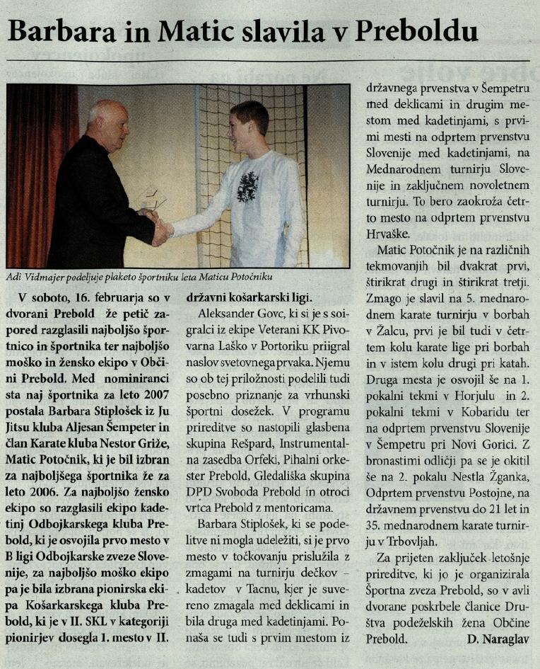 Utrip Savinjske doline, 27. 2. 2008, št. 2, str. 21