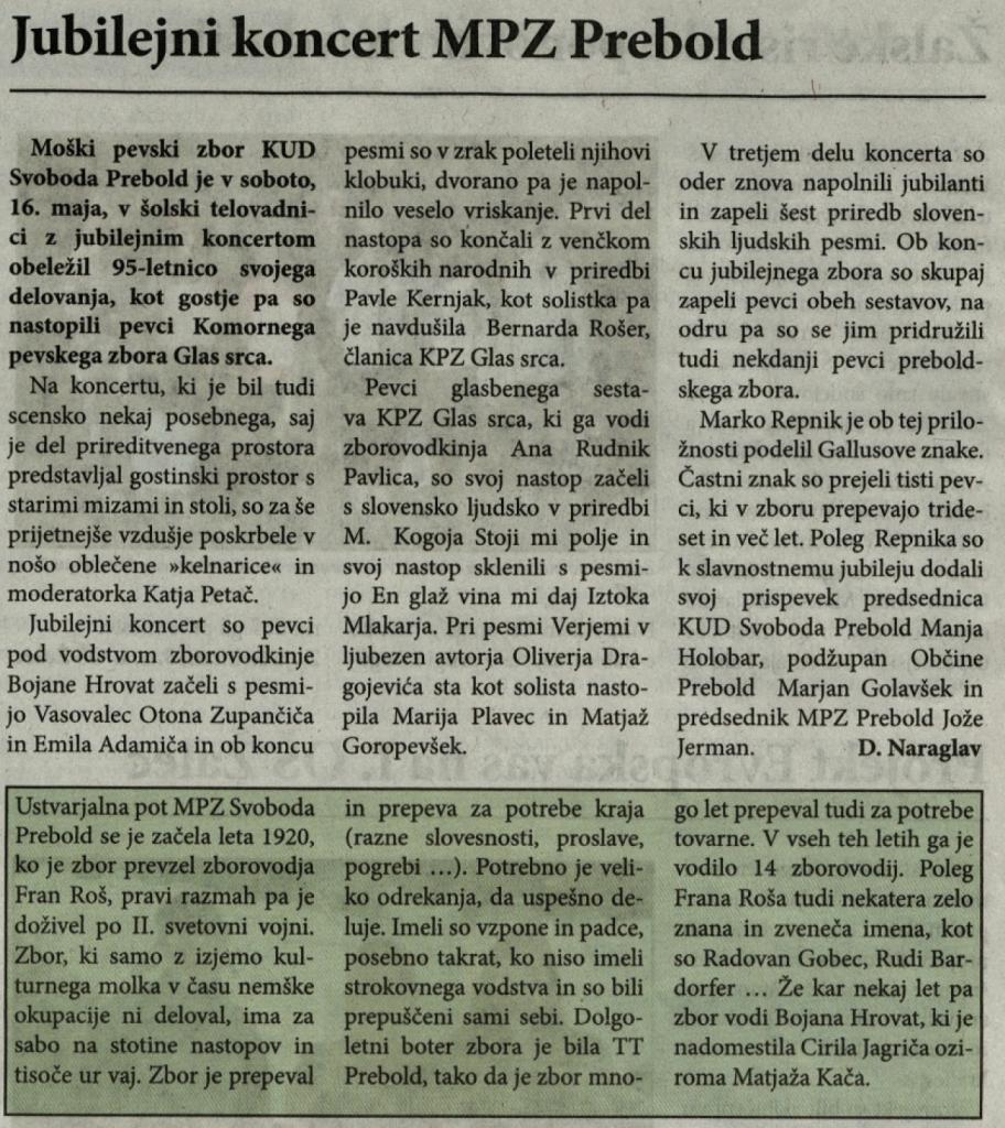 Utrip Savinjske doline, 27. 5. 2015, št. 5, str. 24