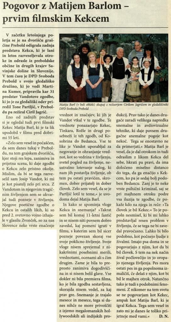 Utrip Savinjske doline, 27. 9. 2006, št. 9, str. 18