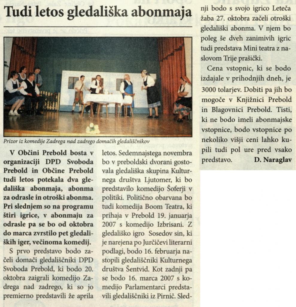 Utrip Savinjske doline, 27. 9. 2006, št. 9, str. 19
