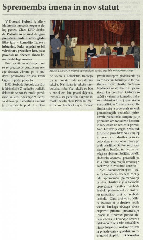 Utrip Savinjske doline, 28. 4. 2010, št. 4, str. 19