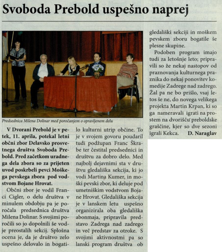 Utrip Savinjske doline, 28. 5. 2008, št. 5, str. 4