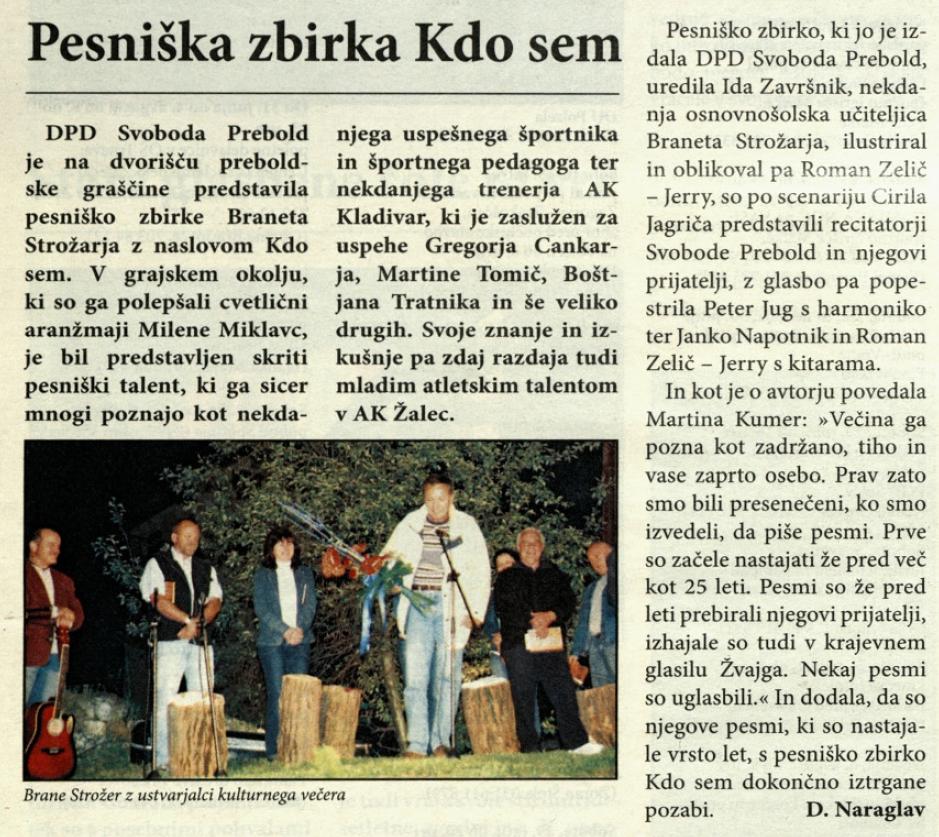 Utrip Savinjske doline, 28. 6. 2006, št. 6/7 , str. 18