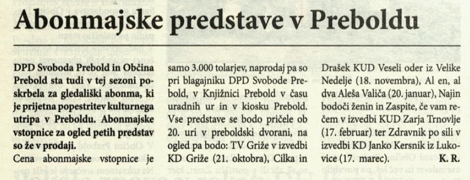 Utrip Savinjske doline, 28. 9. 2005, št. 9, str. 16