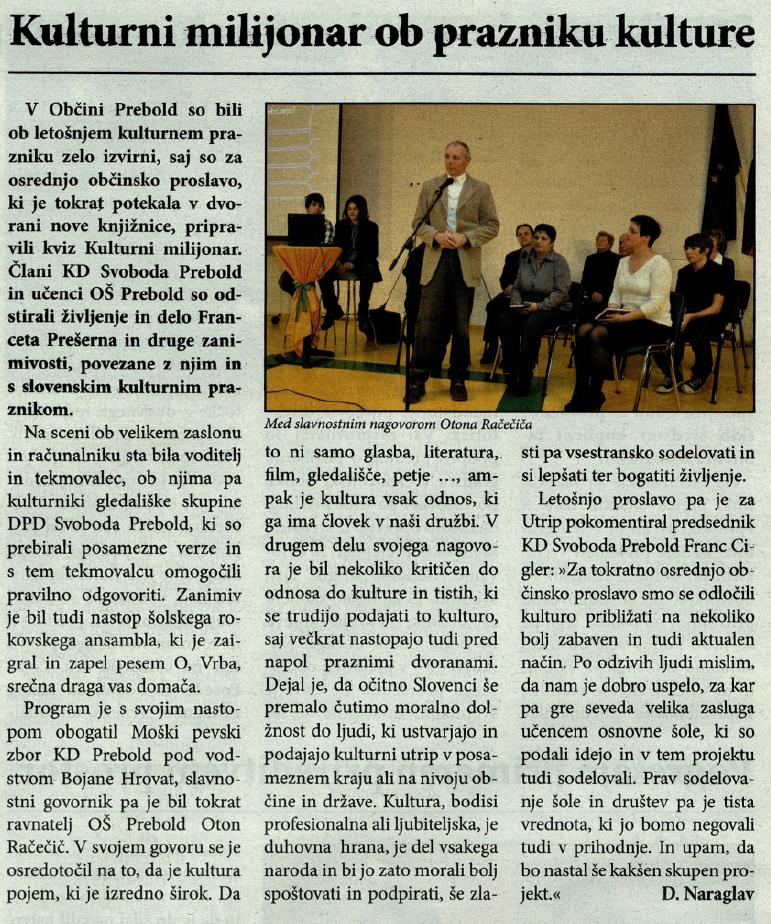 Utrip Savinjske doline, 29. 2. 2012, št. 2 , str. 4