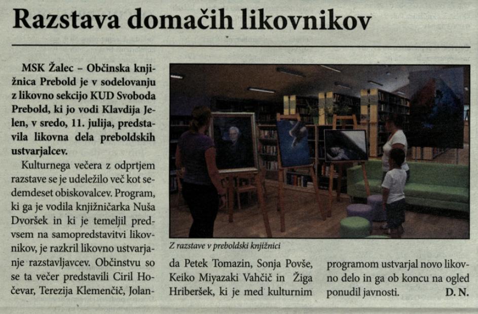 Utrip Savinjske doline, 29. 8. 2012, št. 8 , str. 18