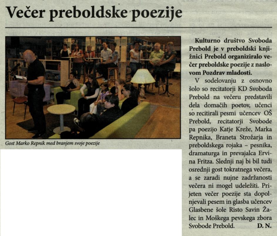 Utrip Savinjske doline, 29. 8. 2012, št. 8 , str. 19
