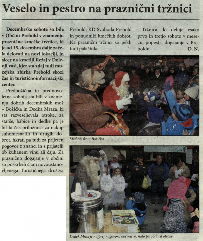 Utrip Savinjske doline, 30. 1. 2013, št. 1 , str. 12